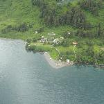 Lodge from air
