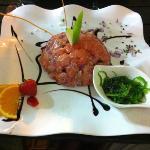 tartare de thon/saumon