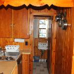 Kitchen, bathroom