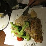 talapia with rice pilaf