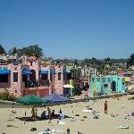 Colorful Beach Houses in Capitola