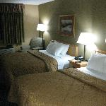 beds, comfortable beds after a day on the road
