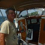 Captain Terry anchored at Watkins Glen
