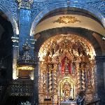 Beneath the dome, inside the sanctuary