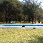 swimming pool at Drotsky's