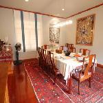 Dining Room at Lanna Thai Villa