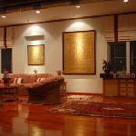 Living Room at Lanna Thai Villa