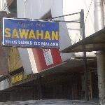 sign board at the outside