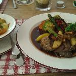 Restaurant im Huberwirt am 18.08.2012 - Hitschkalbsroulade (€ 15,60)