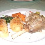 kleftico with beautiful roast potatoes