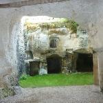 caves in the garden
