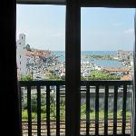 Vista dal balconcino (camera 625)
