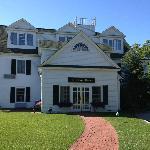 Der Eingang zum Chase House