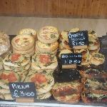 Delicious artisan bakery delights