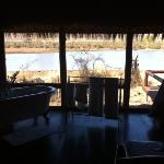 Camp Shawu - view from room over the lake
