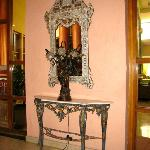 antiques in the lobby