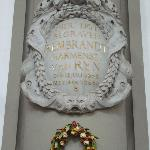 Rembrandt remembarance plaque