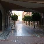 Omgivelser omkring hotellet
