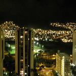 山側の夜景