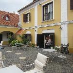 Gombas Kuria Courtyard