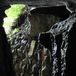 Interior da caverna foto 9