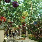 jardín en el hall