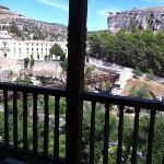 Parador de Cuenca vue des cacas colgadas