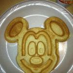 Mickey Waffles!!