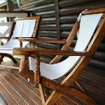 La terrazza della camera sedetevi e iniziate a rilassarvi