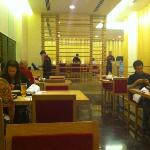 dinner at Sakura