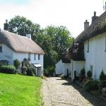 North Bovey, one of several local picturesque villages nearby on Dartmoor.