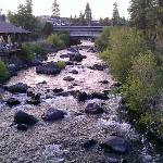Deschutes River from bridge between units