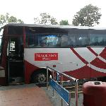 panorama bus from malaka sentral to dutch square