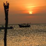 view from Kendwa beach where Zanzibar water sports have a base