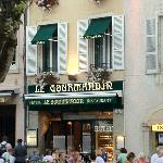Le Gormandin from the square
