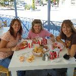 Sister lunch at Taqueria del Sol...