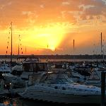 Sunset at Marina