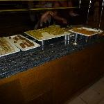 Cake selection in Main resturant