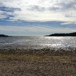 Brighouse bay beach