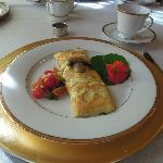 Breakfast omelet - yummy!