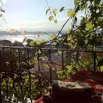 vista dalla terrazza della marmara guesthouse