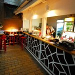 Garden bar at Laze Teleckog street