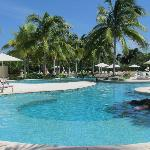 """view of adult pool area from our """"usual chairs"""""""