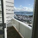 view from double room balcony