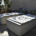 Private Rooftop terrace Sirocco room