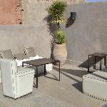 Dachterrasse Lounge Area