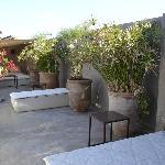 Dachterrase Lounge Area