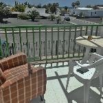 Nice sunny balcony