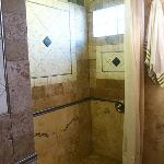 Bathroom with Rain Shower