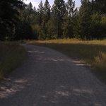 Easy flat path to walk/hike/bike ride
